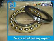 Professional Single Direction Thrust Ball Bearings , Axial Thrust Bearing 51207