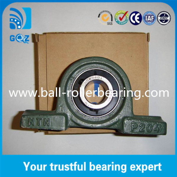 Heavy Duty Sealed Pillow Block Bearings Cast Iron Housing  For CNC Machine