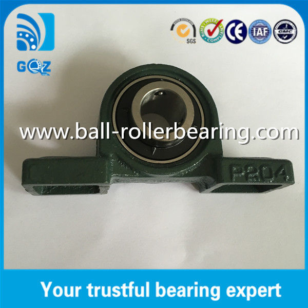 20mm bore Cast Steel Material Plummer pillow block bearings UCP204