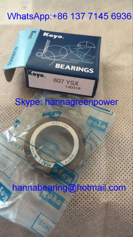 607YSX Cylindrical Roller Nylon Cage Eccentric Bearing 607YSX-11-17 for Gearbox 19*33.9*11 mm
