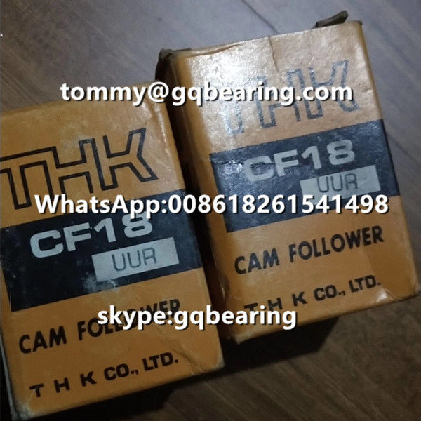 Japan Origin THK CF18UUR Cam Follower Bearing with Spherical Outer Ring