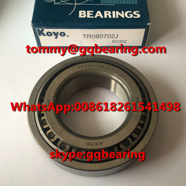Gcr15 steel Material Koyo TR080702J Tapered  Roller Bearing For TR080702J/1D Toyota Vios Gearbox Bearing
