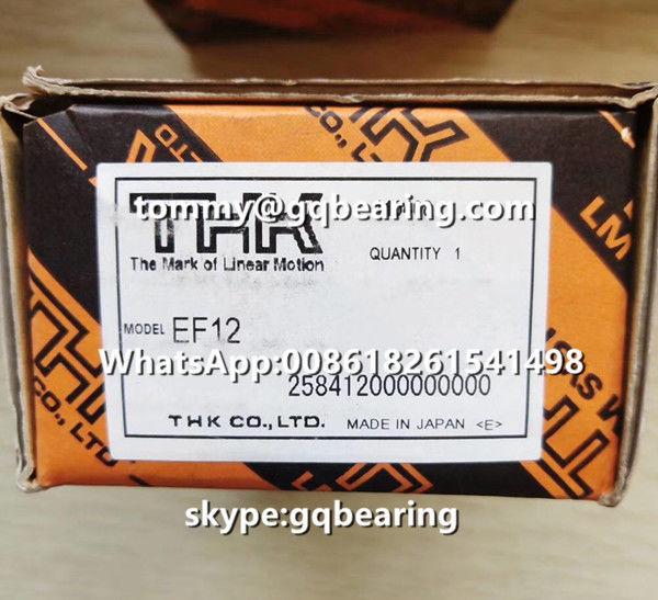 CNC Machine Application THK EF12 Square type Ball Screw Support Slide Units