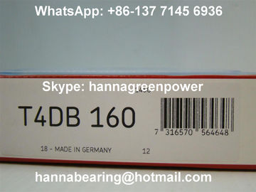 Λεπτό τύπων T4DB160 ρουλεμάν κυλίνδρων βαριών φορτίων μυτερό 160x220x32mm